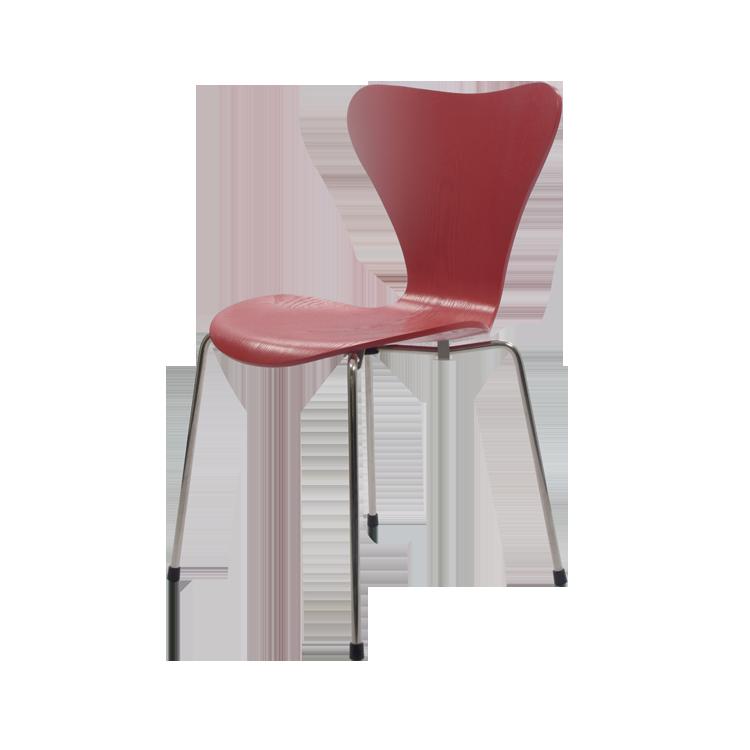 jadalnia krzesło Motyl serii czerwony
