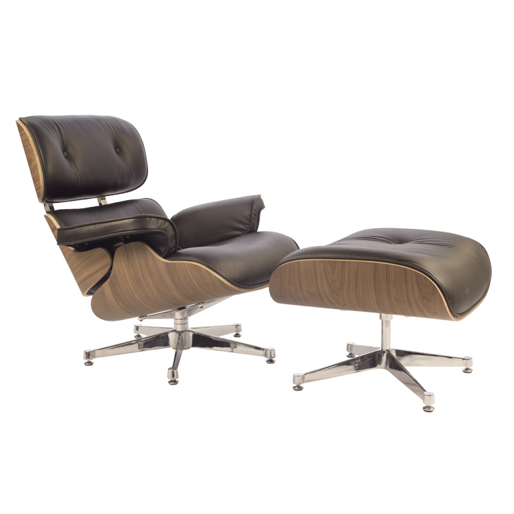 Eames lounge stoel lounge leder design lounge for Stoel leder