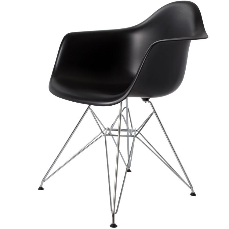 silla de comedor DD DAR negro PP