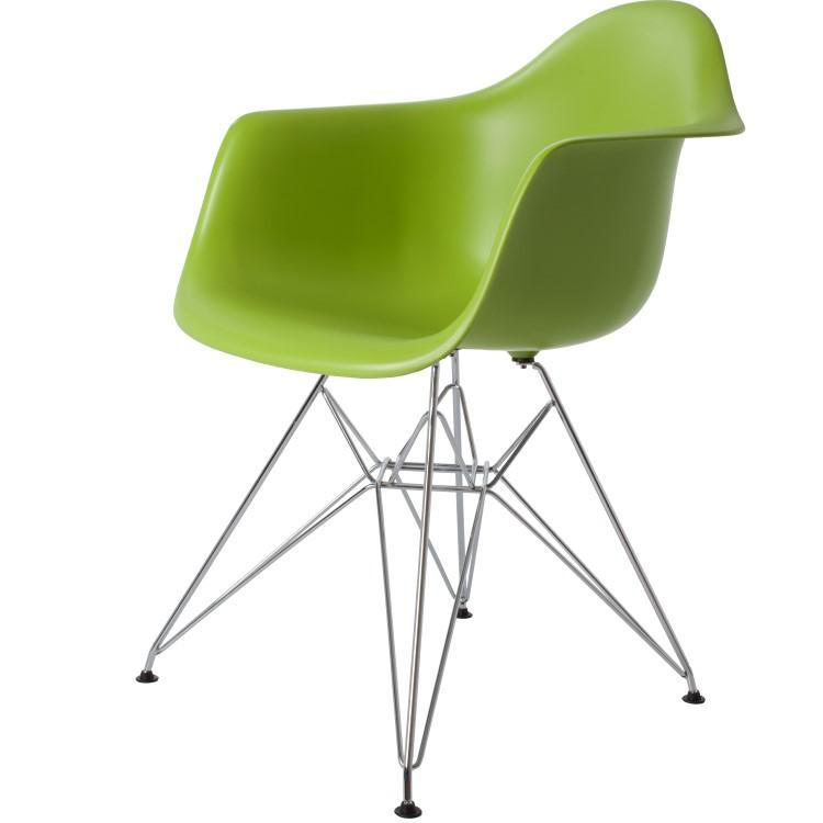 silla de comedor DD DAR verde PP