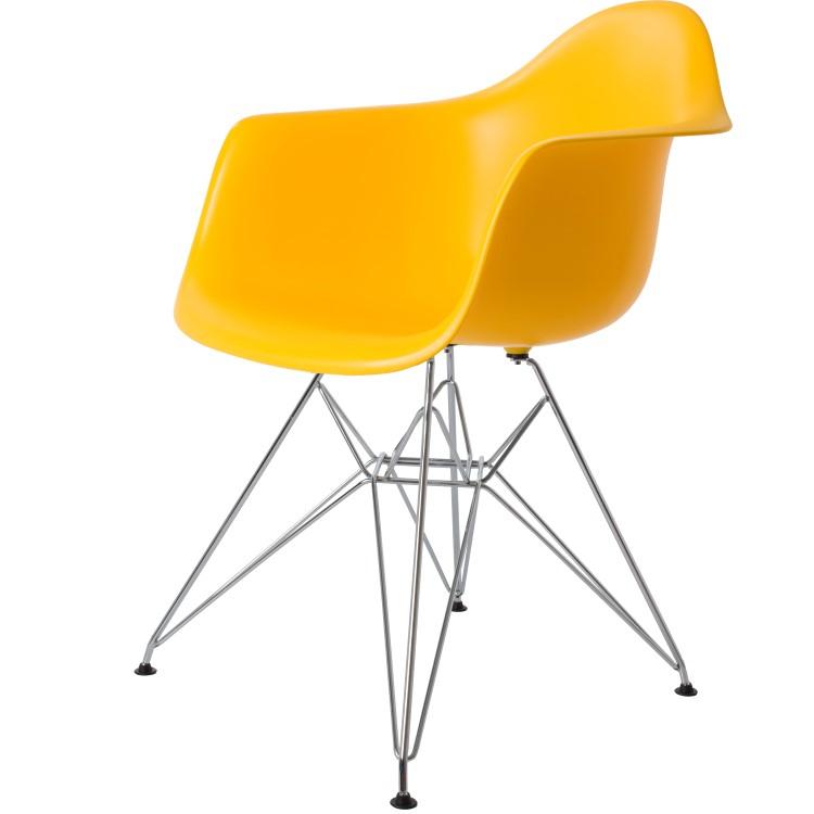 silla de comedor DD DAR amarilla PP