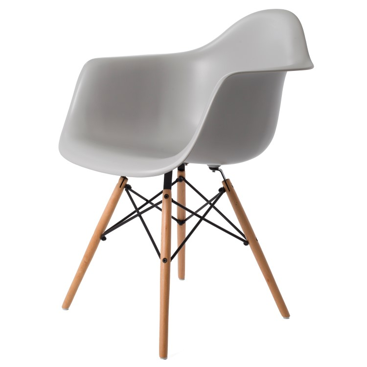 dining chair DD DAW PP lightgrey