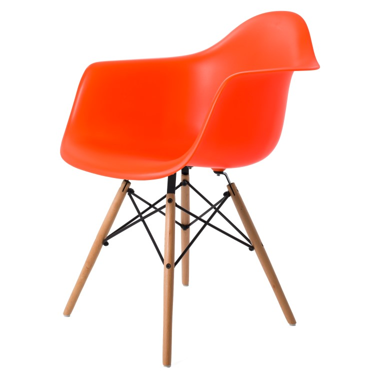 dining chair DD DAW PP neon orange