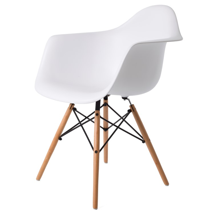 dining chair DD DAW PP white