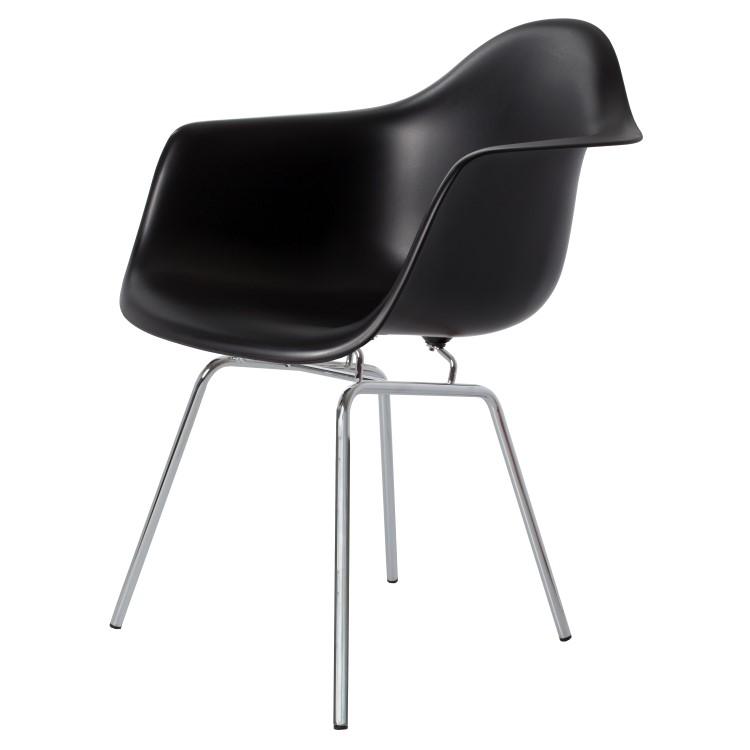 silla de comedor DAX negro PP