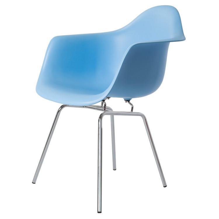 silla de comedor DAX azul claro PP