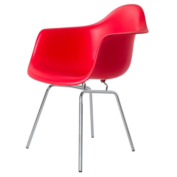 silla de comedor DAX rojo PP