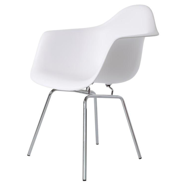 silla de comedor DAX PP blanco