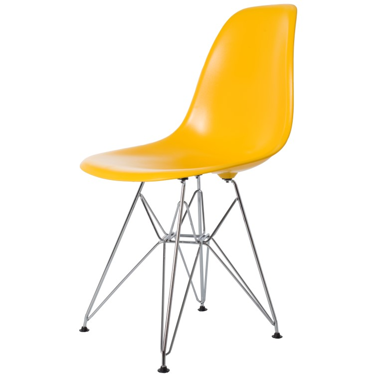 dining chair DD DSR ABS yellow
