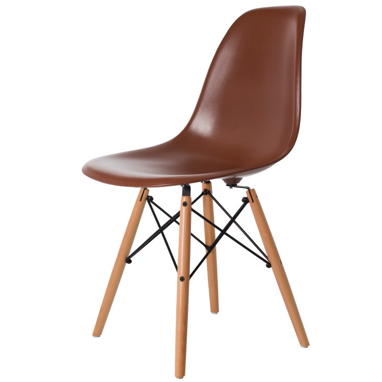 dining chair DD DSW ABS brown