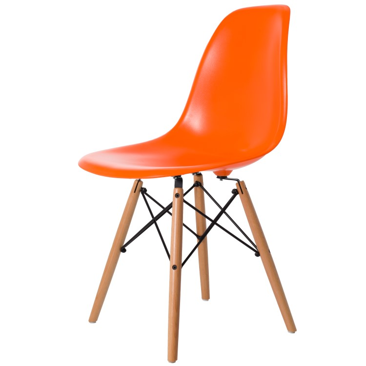 dining chair DD DSW ABS orange
