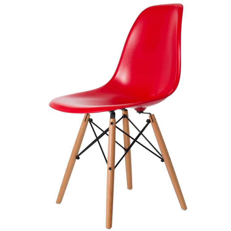 dining chair DD DSW ABS red