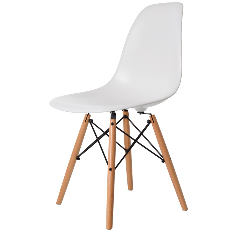 dining chair DD DSW ABS white