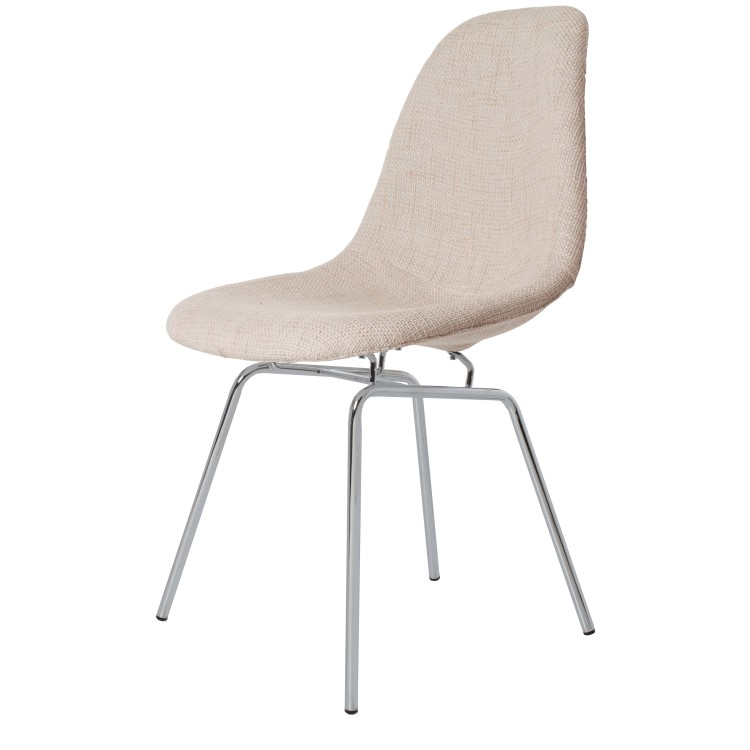 Eames eetkamerstoel dsx upholstered design stoelen - Eames meubels ...