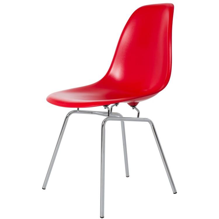 silla de comedor DSX ABS Rojo
