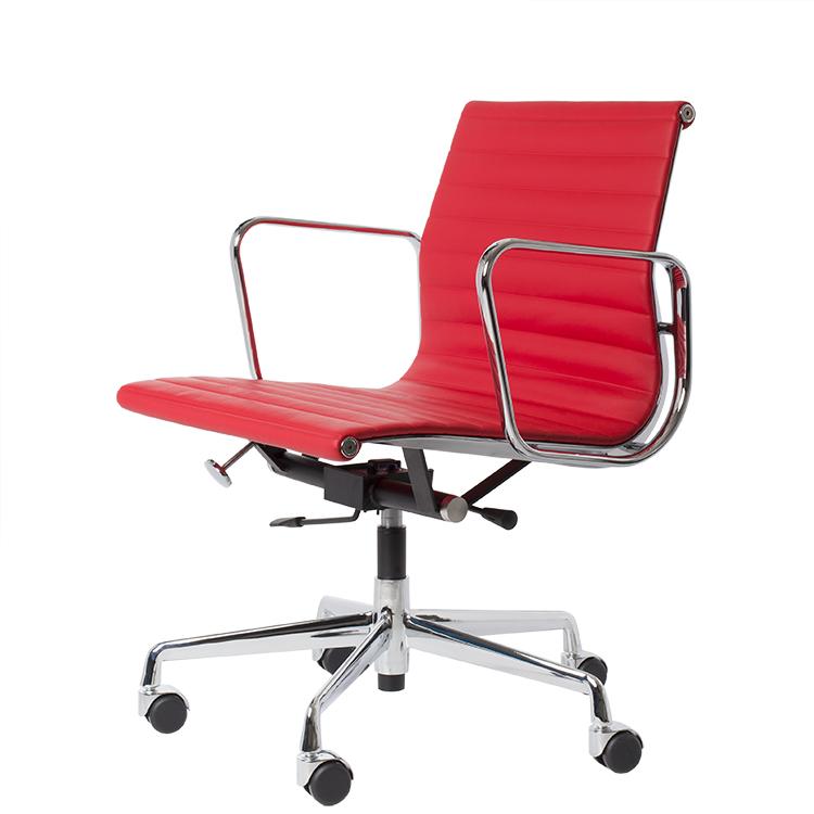 Silla de oficina EA117 rojo