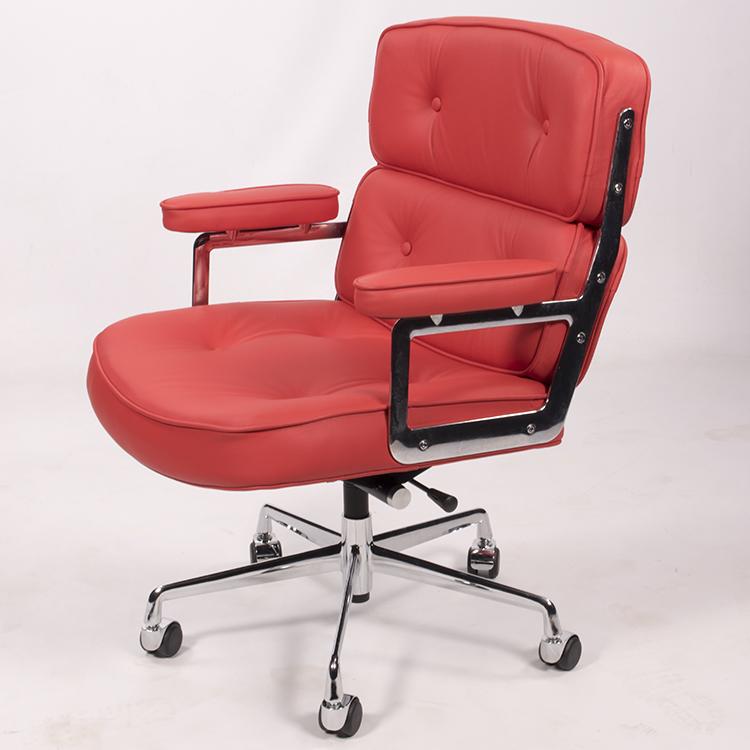 krzesło biurowe ES104 czerwony