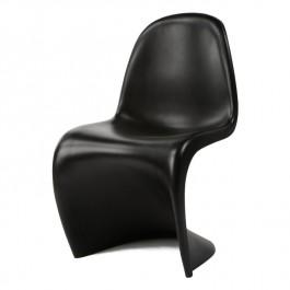 krzesełko dla dziecka Krzesło Panton Junior czarny