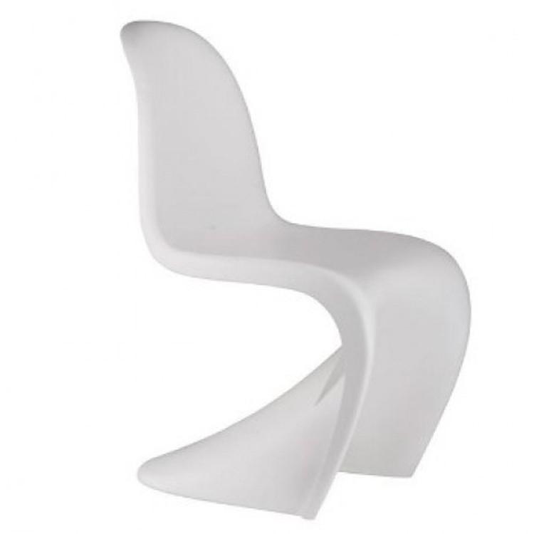 silla de comedor silla Panton blanco