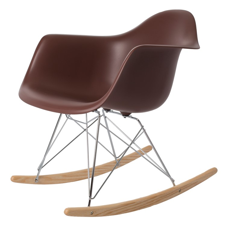 rocking chair RAR PP brown