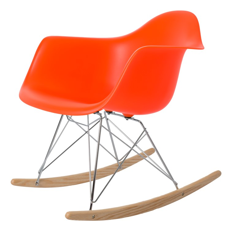 rocking chair RAR PP neon orange