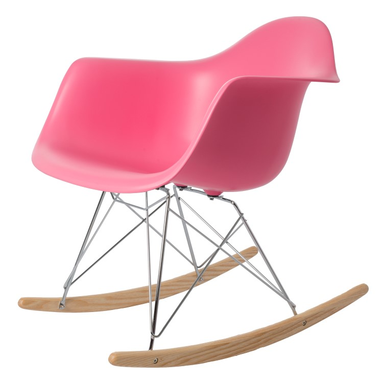 rocking chair RAR PP pink
