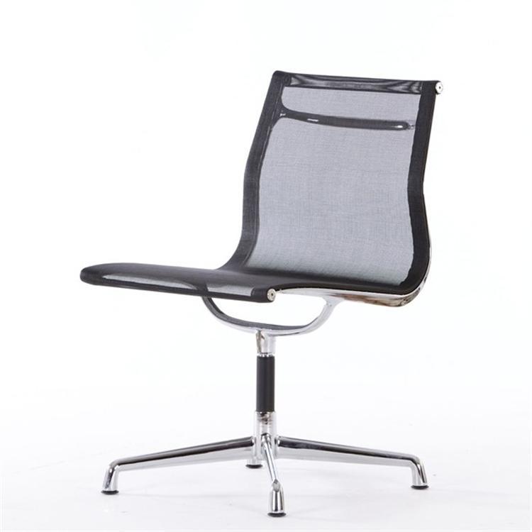 krzesło konferencyjne EA105 mesh netweave czarny