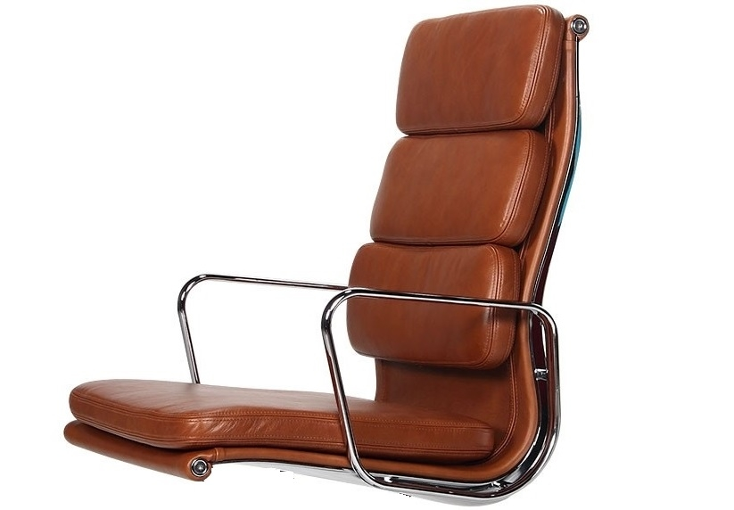 krzesło konferencyjne EA208 Wysoki plecach antyk