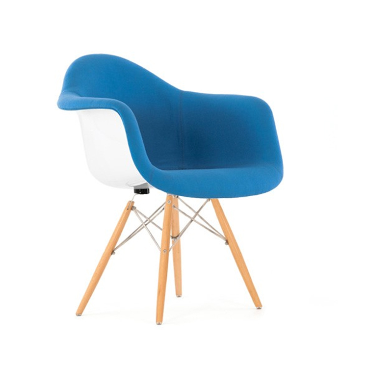 Eames dining chair DAW fiberglass upholstered Design Chairs : eames daw wt up lightblue from dominidesign.com size 750 x 750 jpeg 92kB