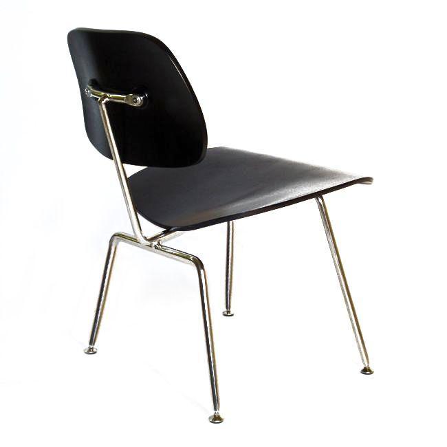 silla de comedor DCM Negro