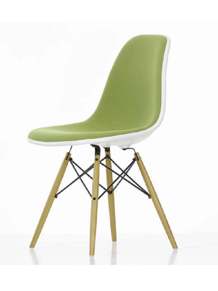 Eames salle manger dsw fibre de verre design chaises for Fauteuil eames fibre de verre