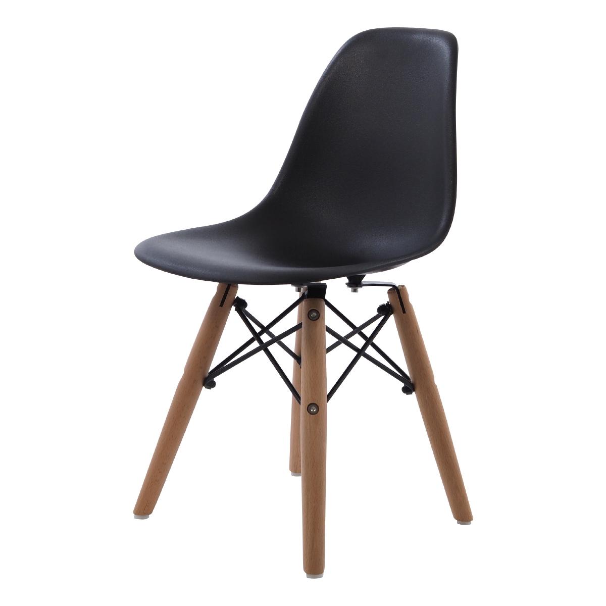 krzesełko dla dziecka DD DSW Junior czarny
