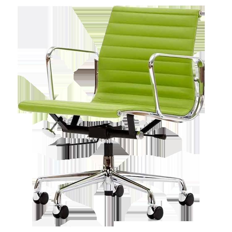 krzesło biurowe EA117 zielony