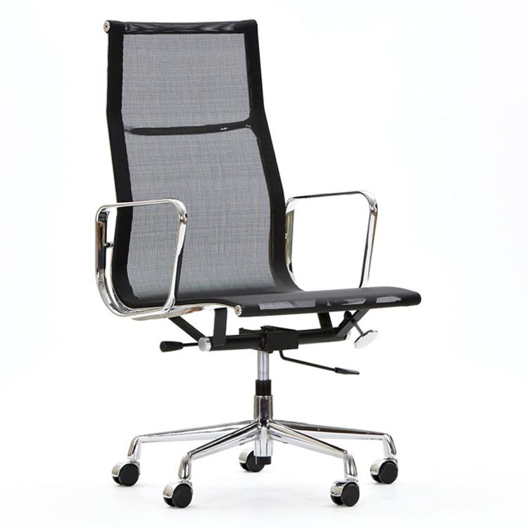 krzesło biurowe EA119 mesh netweave czarny