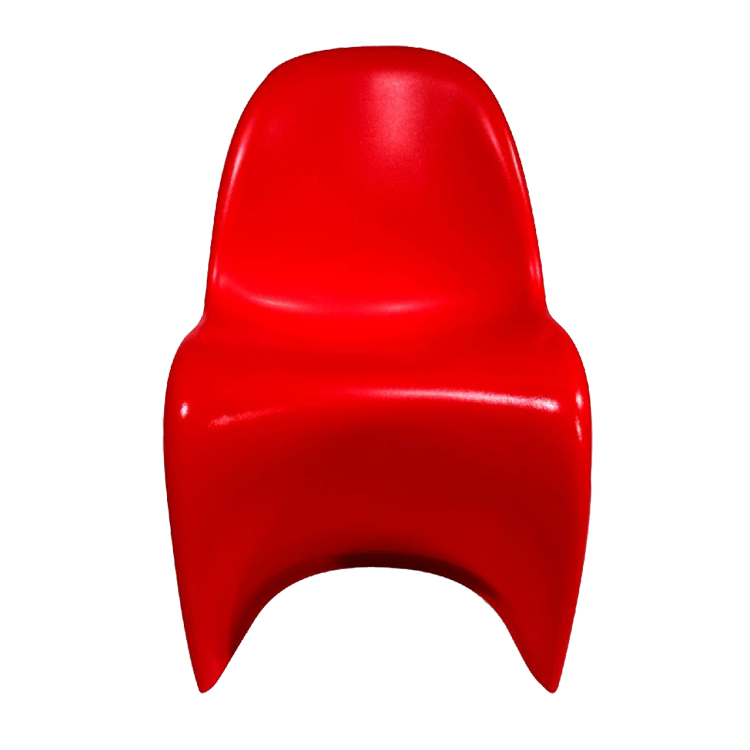 krzesełko dla dziecka Krzesło Panton Junior czerwo