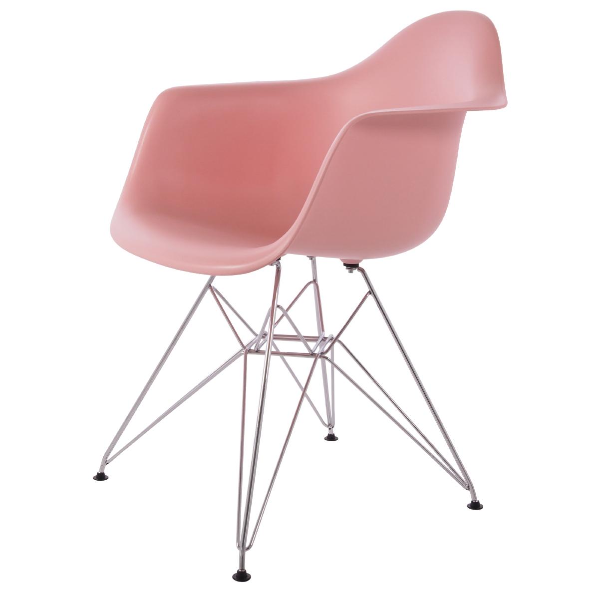 jadalnia krzesło DD DAR jedzenie PP baby pink