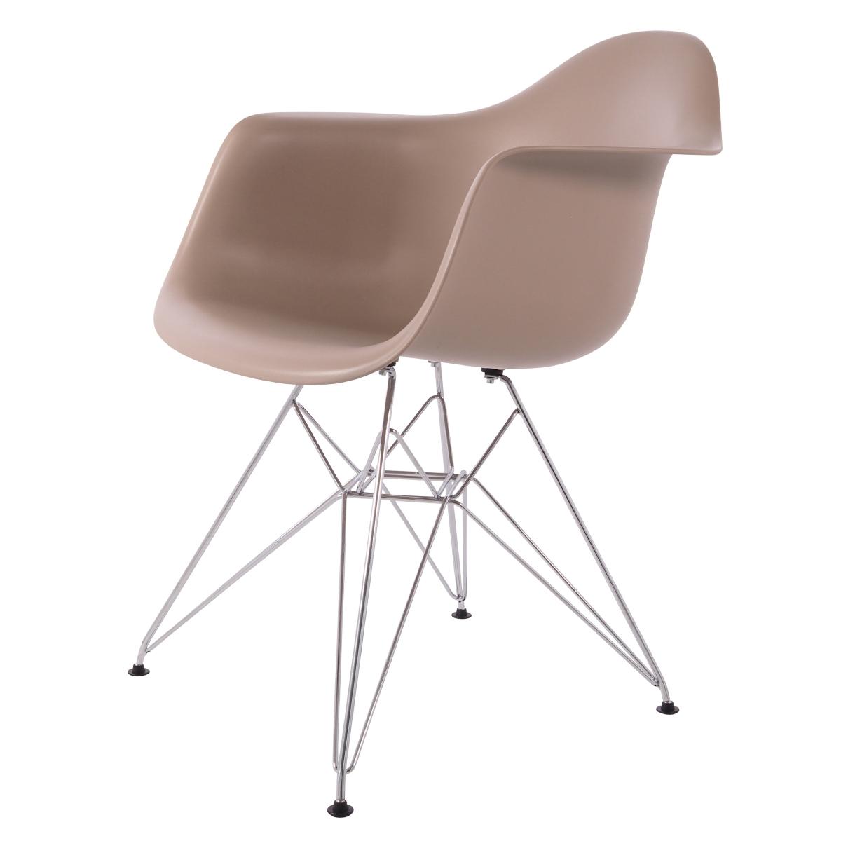 jadalnia krzesło DD DAR jedzenie Lekka czekolada P