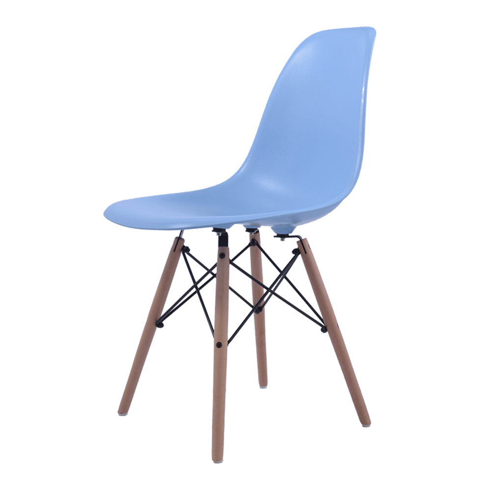 dining chair DD DSW ABS lightblue