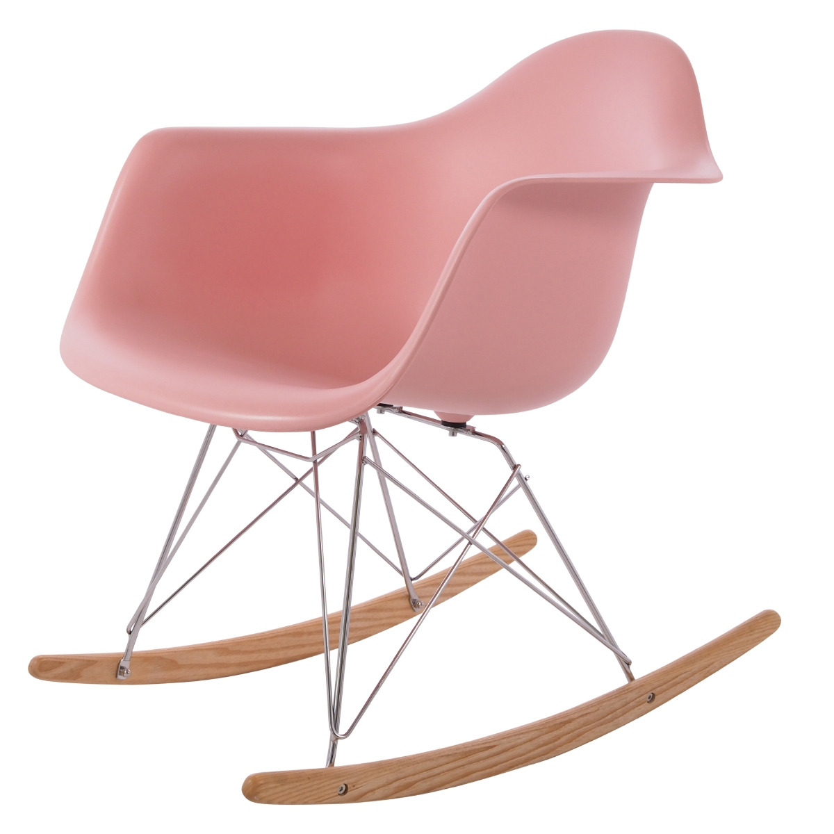 rocking chair RAR PP baby pink