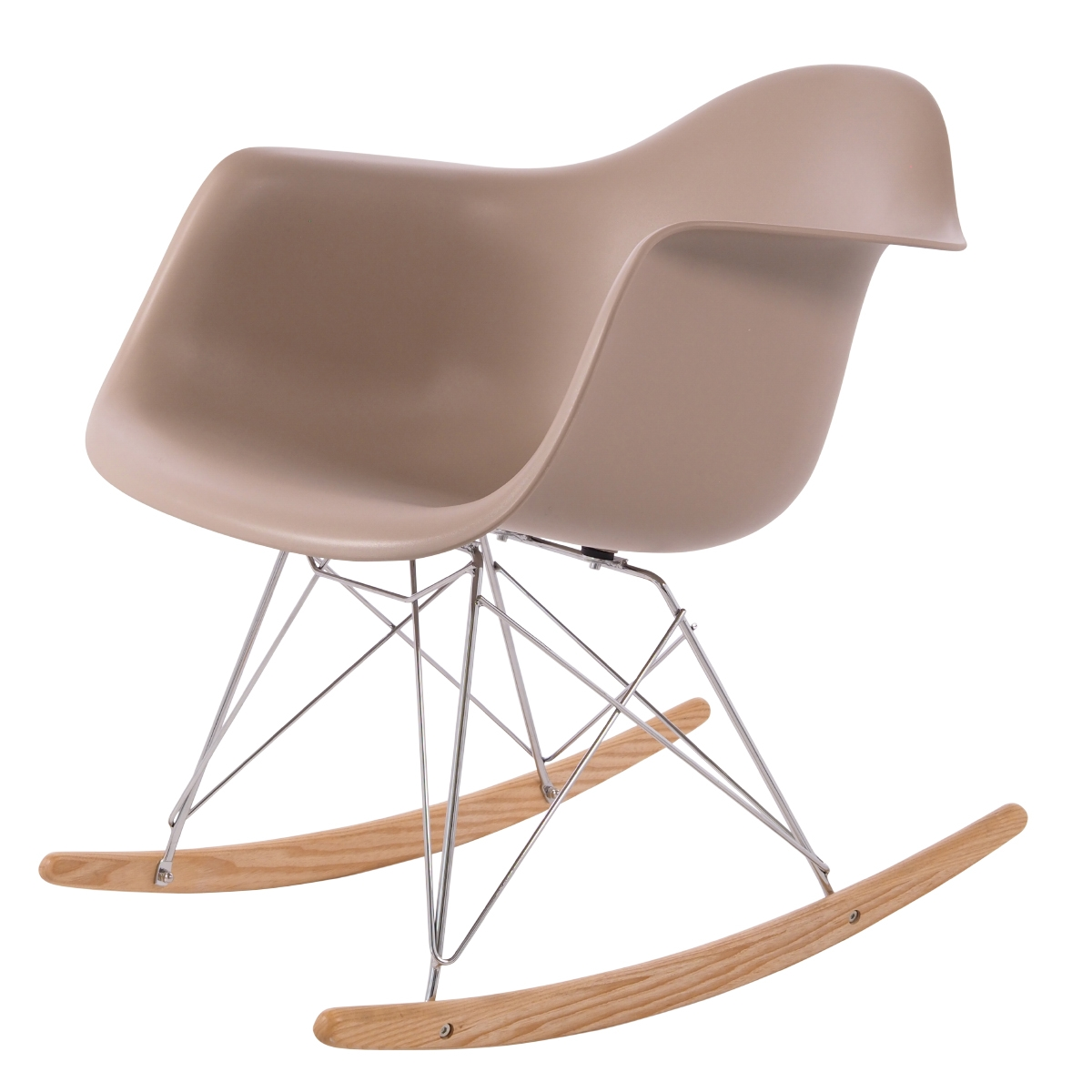 rocking chair RAR PP light choco