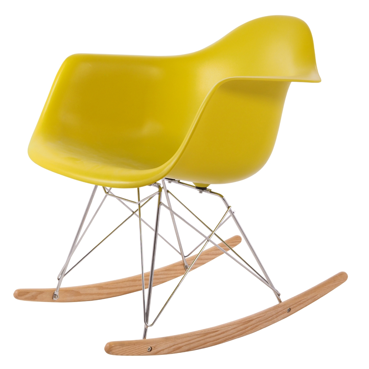 rocking chair RAR PP mustard
