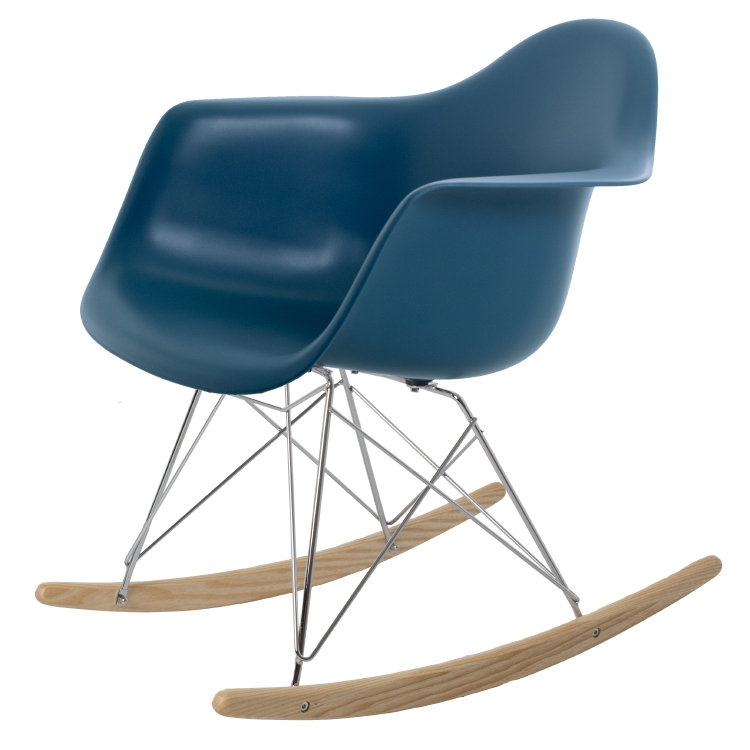 rocking chair RAR PP oceanblue