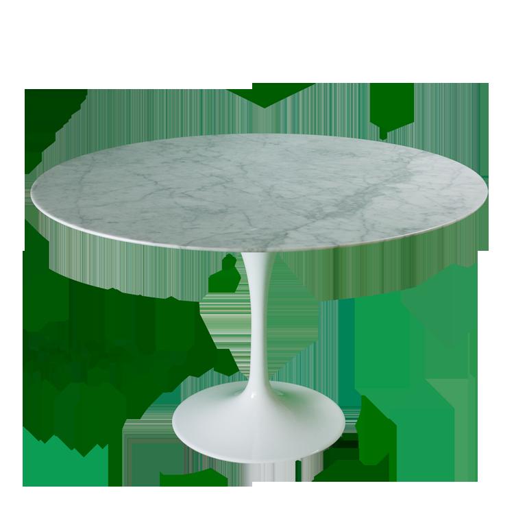 Eero Saarinen dining table Tulip Table 100cm Top Marble  : eero saarinen tulip table 120cm marblewhite12 from dominidesign.com size 750 x 750 png 234kB