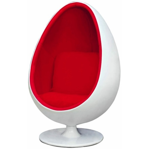 Sillón Egg pod chair rojo