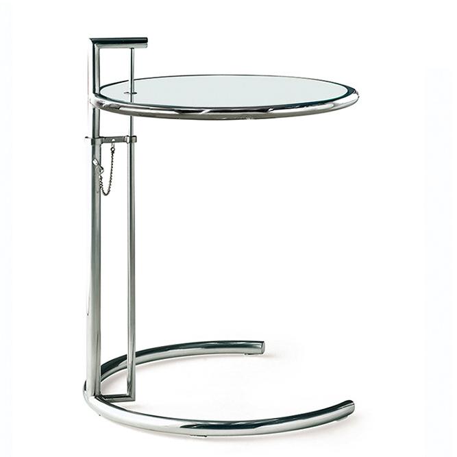 stół boczny E1027 chrom
