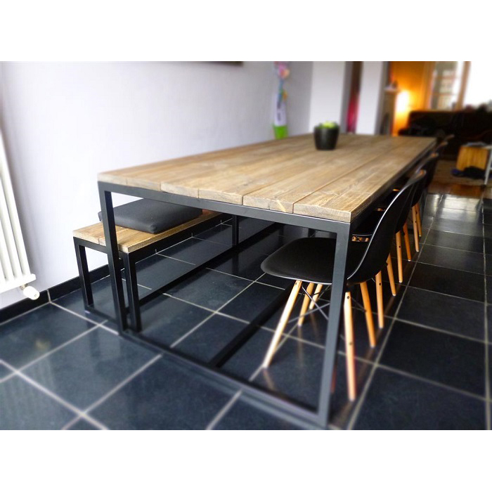 Thinkwood eetkamer tafel ferre design originals - Design eetkamer ...
