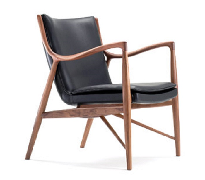 finn juhl lounge chair 45 cahir design lounge. Black Bedroom Furniture Sets. Home Design Ideas