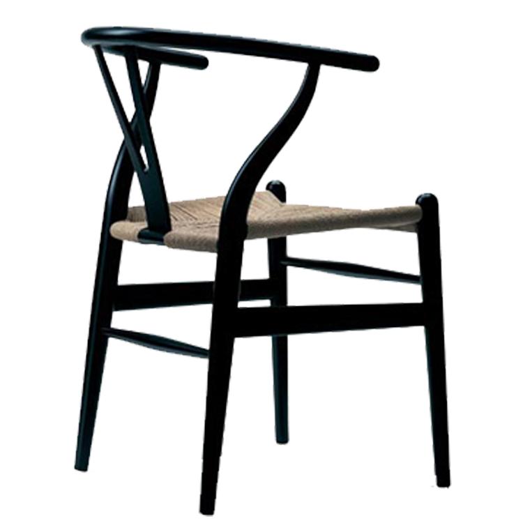 jadalnia krzesło Y-krzesło czarny