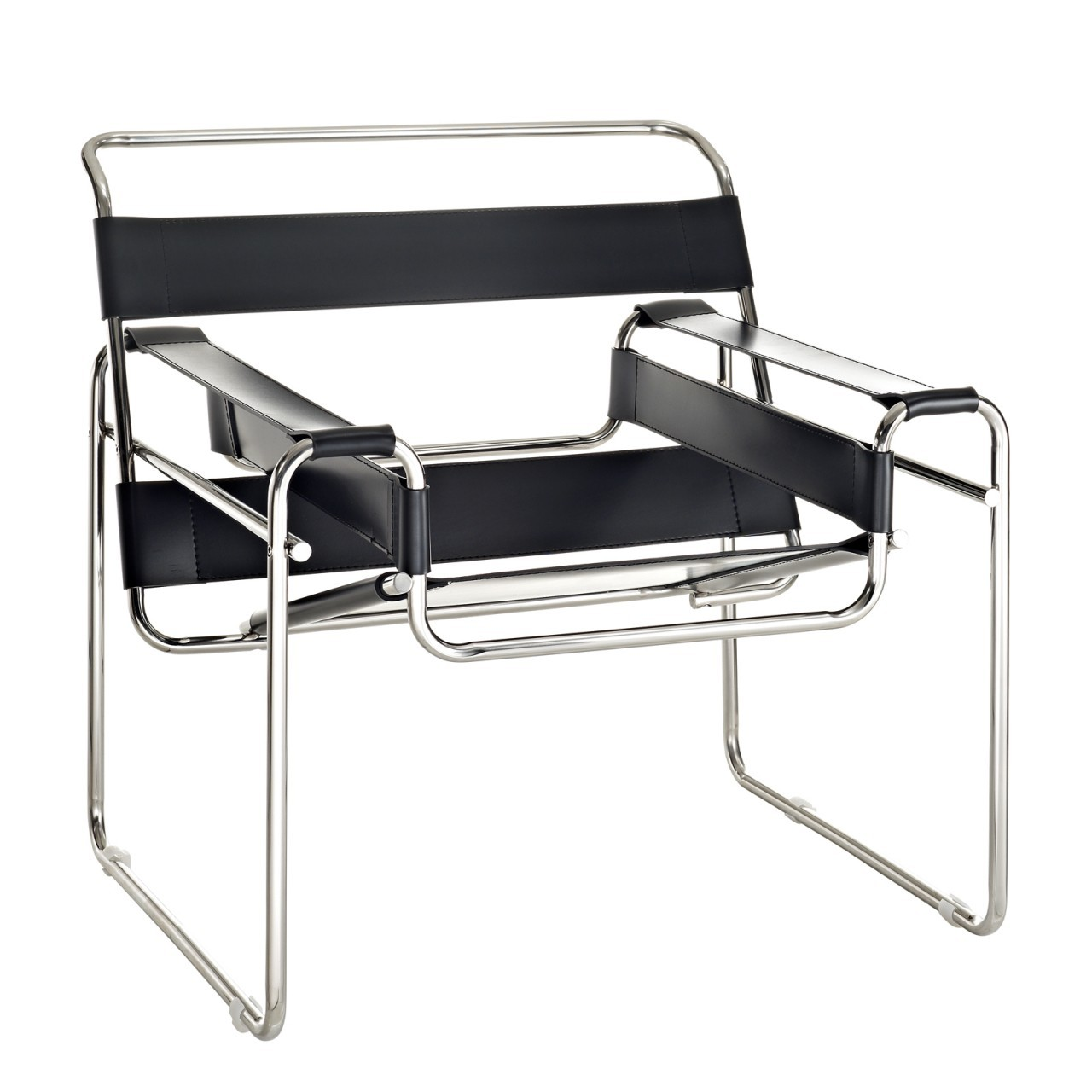 Breuer lounge chair wassily design lounge for Chaise wassily