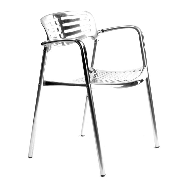 taras krzesło Styl Toledo Brushed Aluminum